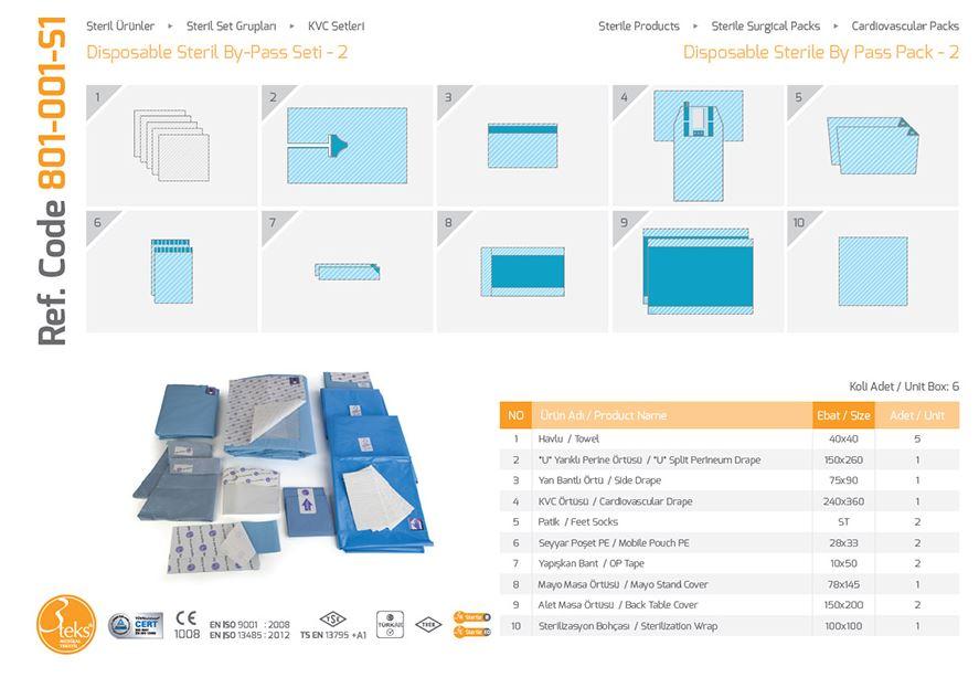 Одноразовая стерильная упаковка - 2
