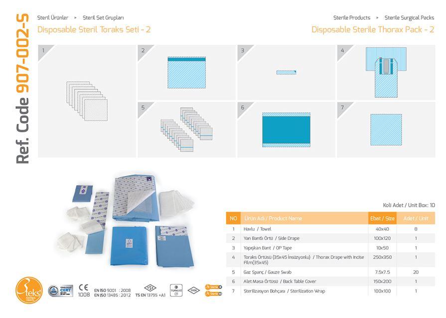 Купить Одноразовый стерильный пакет для тореадора - 2