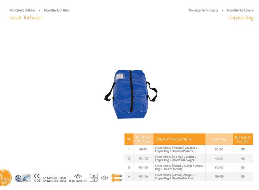 Чехол Non-Steril Corpse Bag