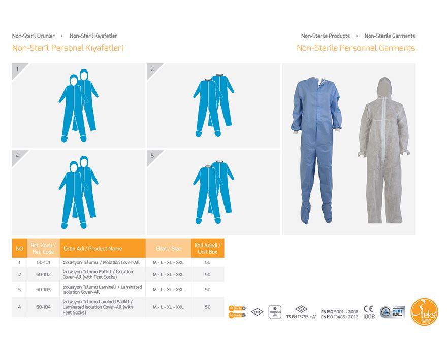 Купить Нестерильная одежда для персонала 3