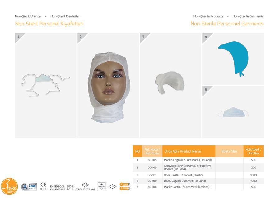Нестерильный набор Non-Sterile Personnel Garments 4