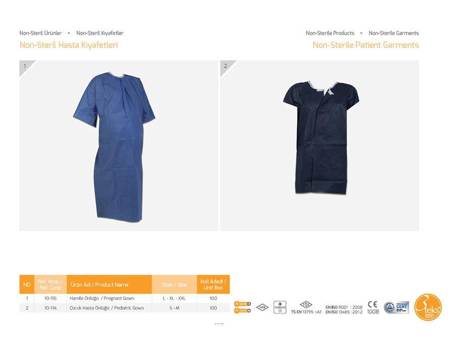 Нестерильная одежда для пациентов 4
