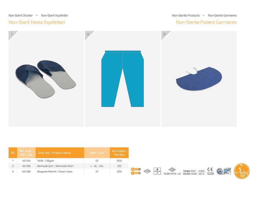 Нестерильная одежда для пациентов 6
