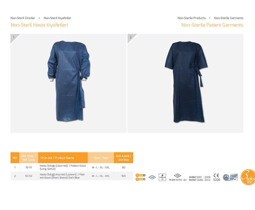 Одежда Non-Sterile Patient Garments 2