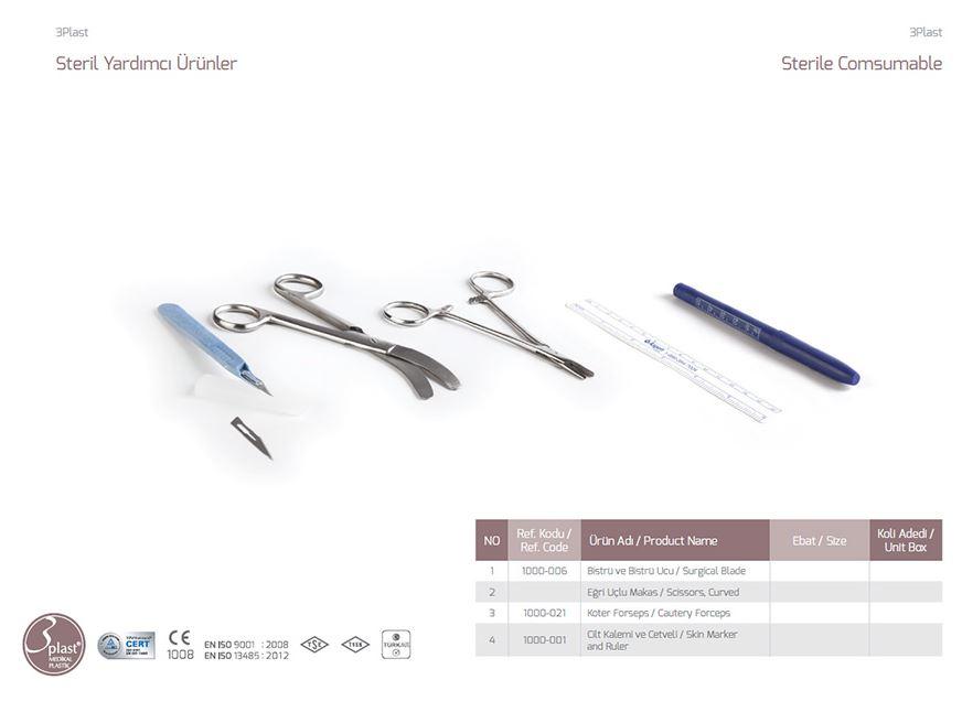 Стерильный Comsumable Skin Marker и Ruler
