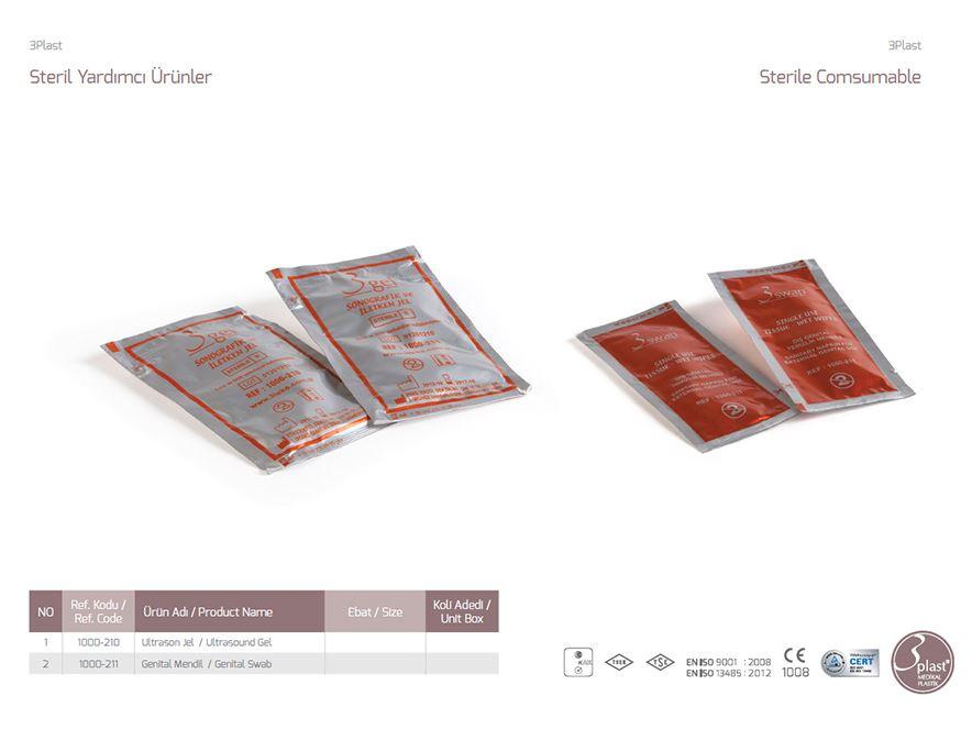 Стерильный компрессионный ультразвуковой гель