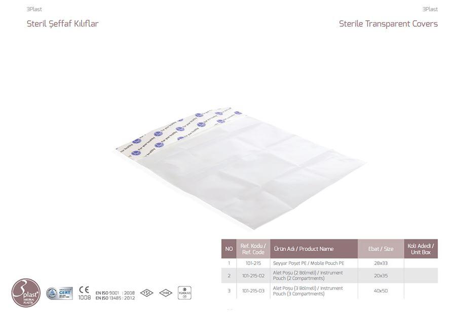 Buy Sterile transparent case for instrument