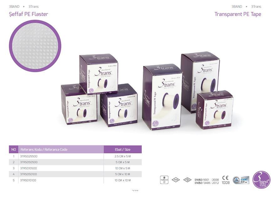 Лента 3 Trans Transparent PE Tape