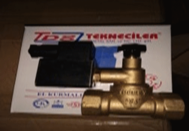 Клапан отсекатель / Clapete de siguranta p-ru inkiderea gazului