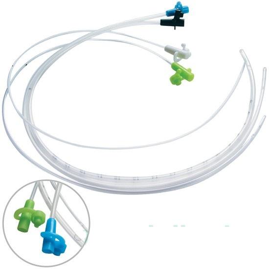 Катетер для энтерального питания с тросовым проводником (адаптер Жанэ)
