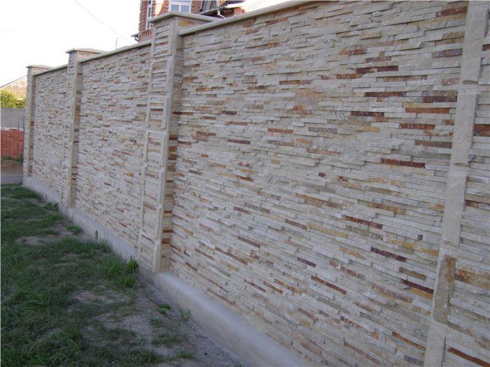 Купить Забор из камня ЗК05