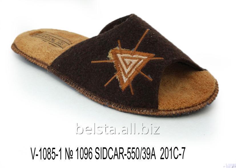 Мужские тапочки V-1085-1 № 1096 SIDCAR-550/39А 201С-7