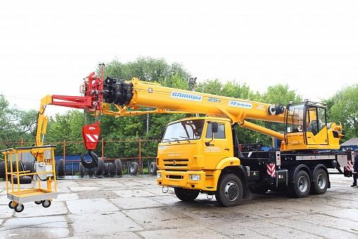 Подъёмник-кран стреловой ПКС-55713-4К-4В