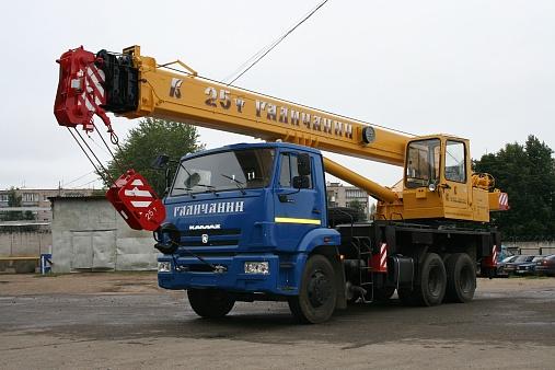 Автомобильный кран kc-55713-1в