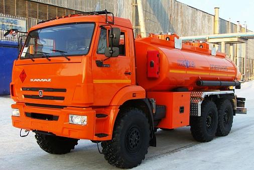 Автотопливозаправщик нефаз-66062