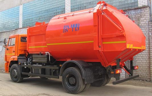 Мусоровоз с боковой загрузкой ко-449-05