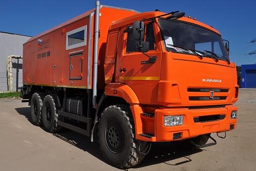Паропромысловые установки  (ППУА 1600/100) на базе шасси КАМАЗ-43118