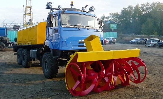 Снегоочиститель фрезернороторный сфр-1