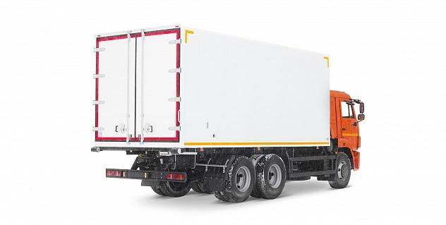 Изотермический фургон на базе шасси КАМАЗ-65115 6х4