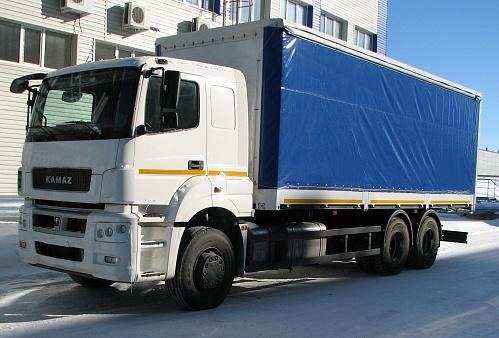 Бортовой автомобиль KAMAZ-65207-87 (S5)
