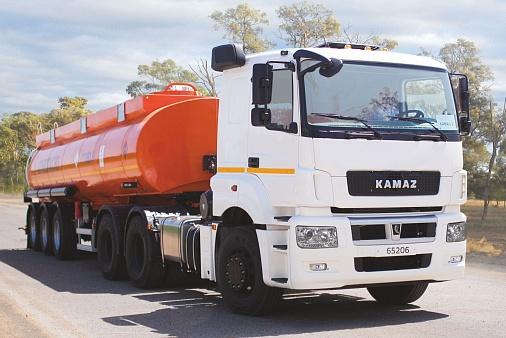 Седельный тягач KAMAZ-65206-68 (T5)