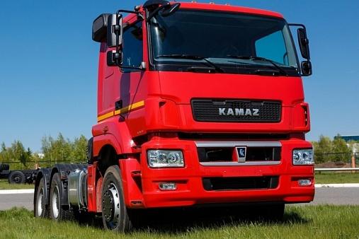 Седельный тягач KAMAZ-65806-68 (T5)