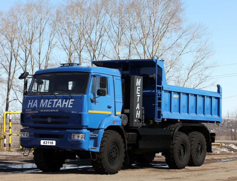 Автомобиль-самосвал 658901-05 на шасси KAMAZ-43118-32 (6х6)
