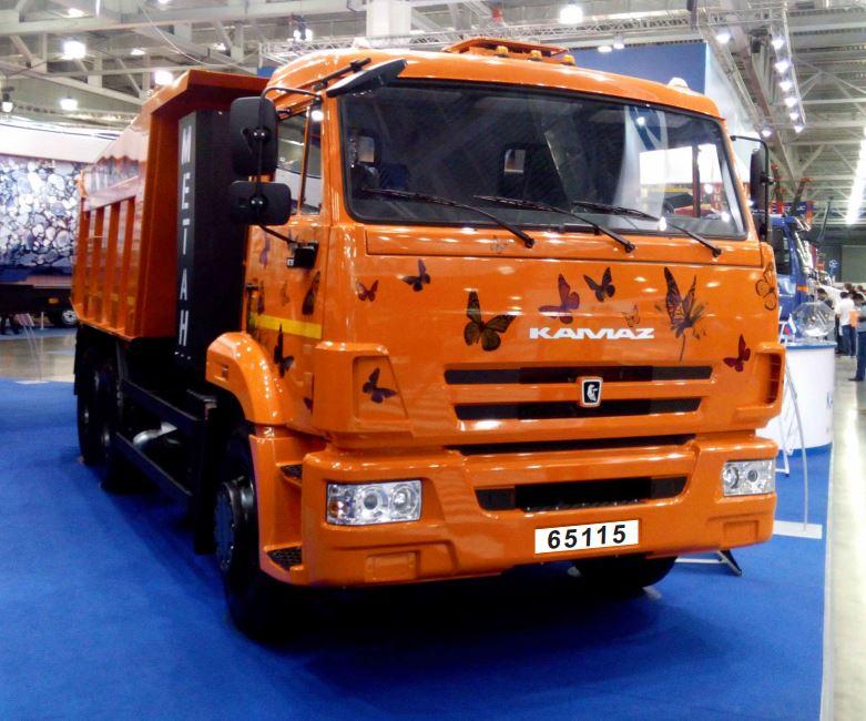Автомобиль-самосвал KAMAZ-65115-32 (6х4)