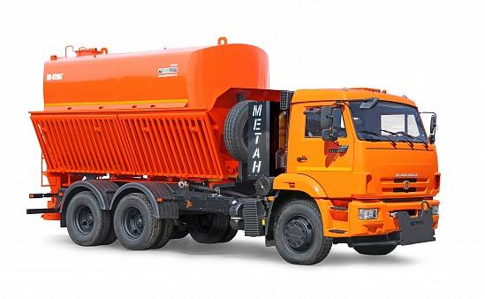 Комбинированная дорожная машина КО-829БГ на газомоторном шасси