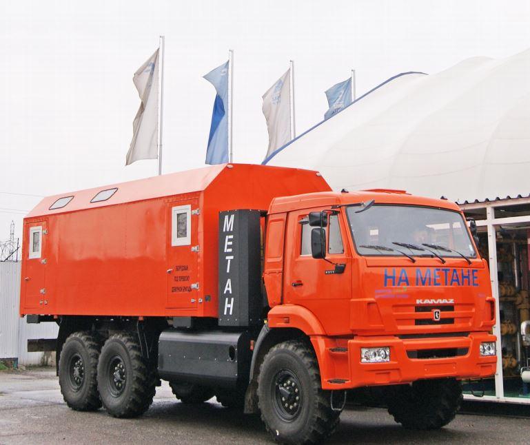 Грузопассажирский автомобиль 3938Р1 шасси KAMAZ-43114-3861-30 (6х6)