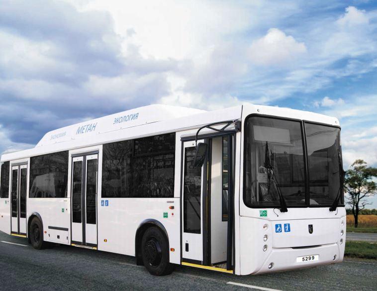 Городской полунизкопольный автобус 5299-30-51