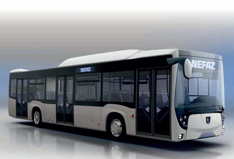 Рестайлинговый низкопольный автобус НЕФАЗ 5299-40-57 на КПГ