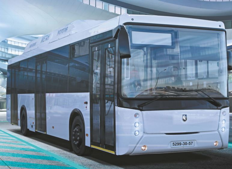 Городской полунизкопольный автобус НЕФАЗ 5299-30-57 на КПГ