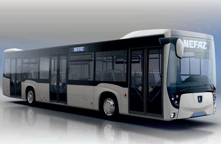 Рестайлинговый низкопольный автобус НЕФАЗ 5299-40-52