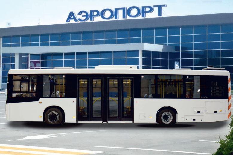 Перронный низкопольный автобус НЕФАЗ-5299-40-52