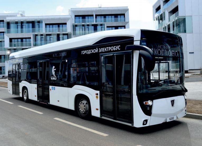 Электробус  KAMAZ-6282