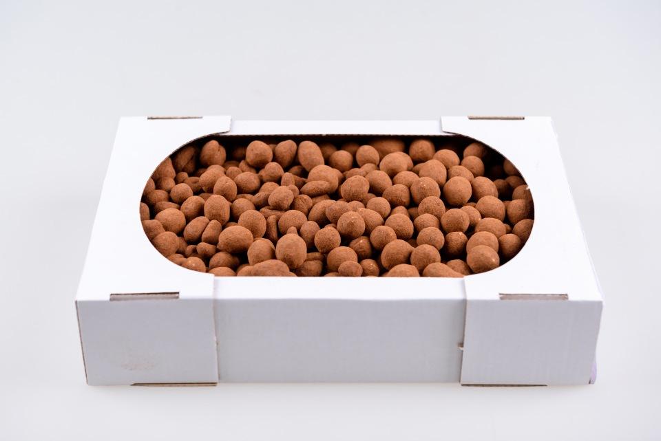 Арахис в молочном шоколаде в какао пудре kg, Arahide in ciocolata de lapte in pudra de cacao, kg