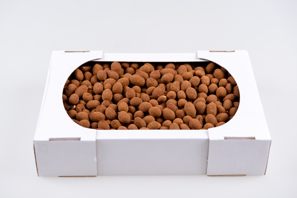 Tarçın, sütlü çikolata fıstık Арахис в молочном шоколаде в карице kg kg