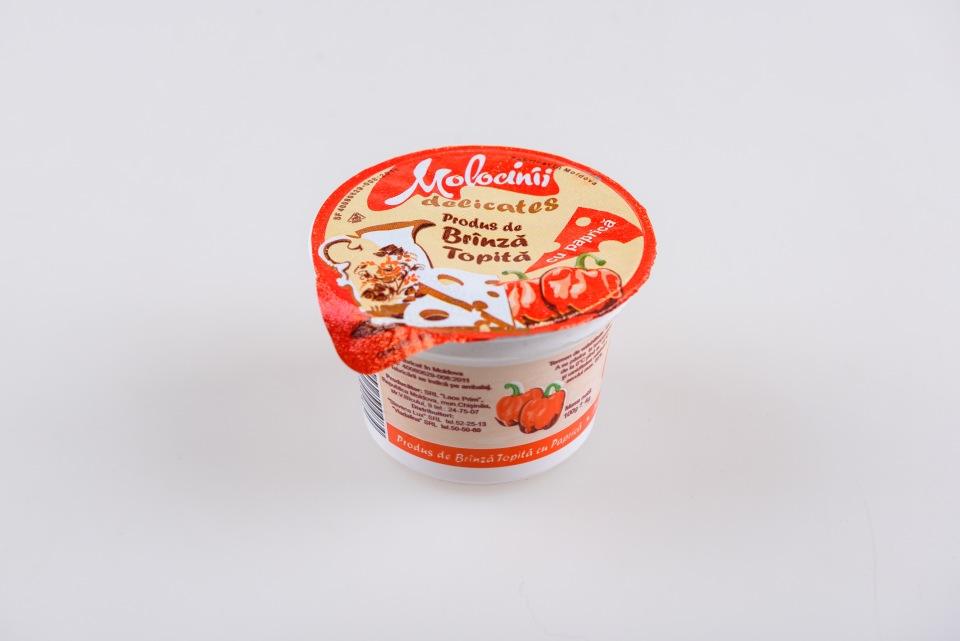 Купить Плавленый сыр 40% (4 вида), Produs de brinza topita 40% cu paprica