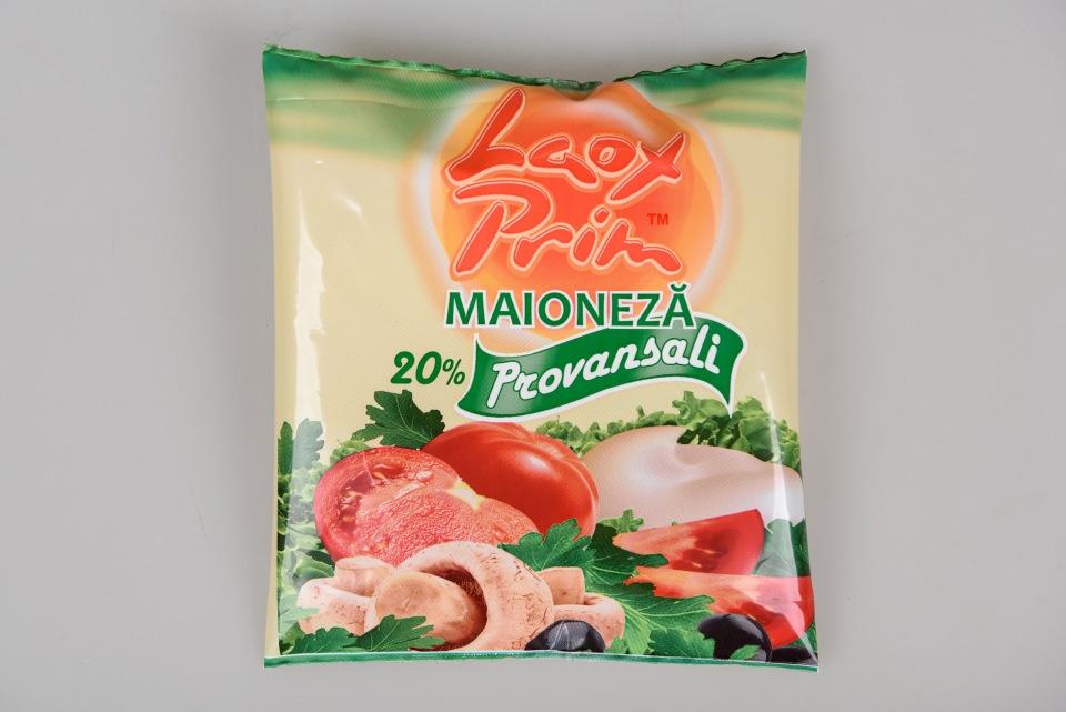 "Майонез  ""Provansali"" 20 % 200 g,  Maioneza la pachet Provansali 20 % 200 g"