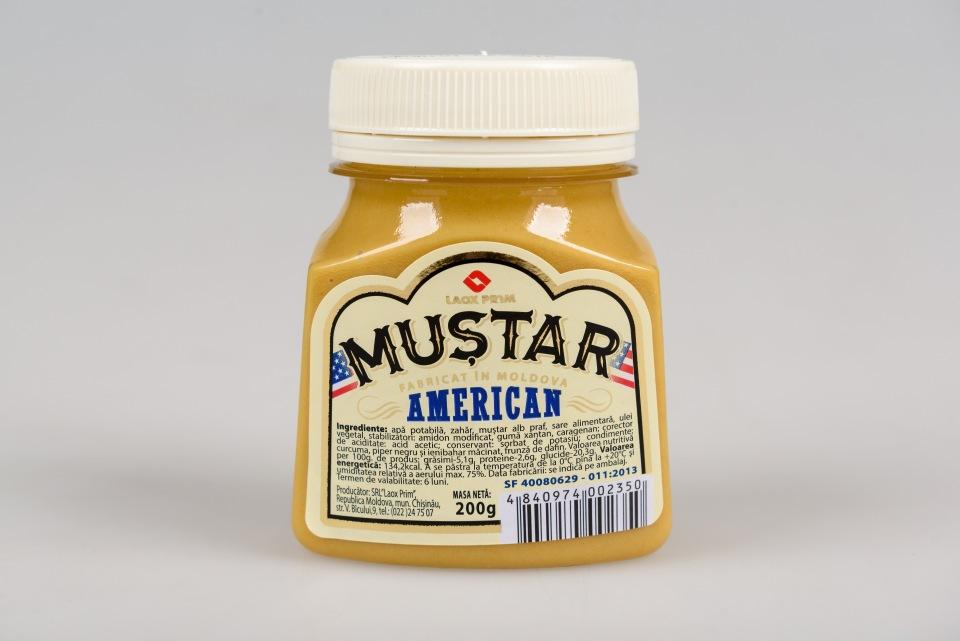 Горчица Американская 200gr, Mustar American 200gr