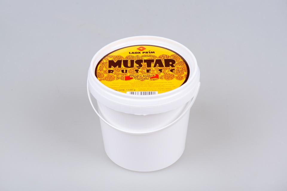 Горчица Русская 3,5 kg, Mustar Rusesc 3,5 kg