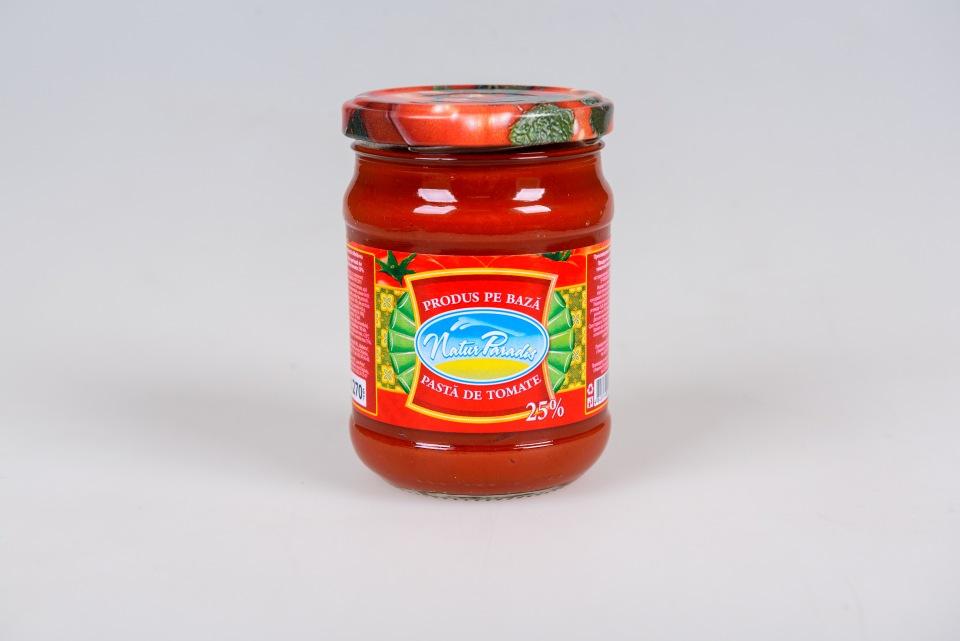 Продукт томат паста 25%, 0,270kg, Produs pb de pasta de tomate 25%, 0,270kg
