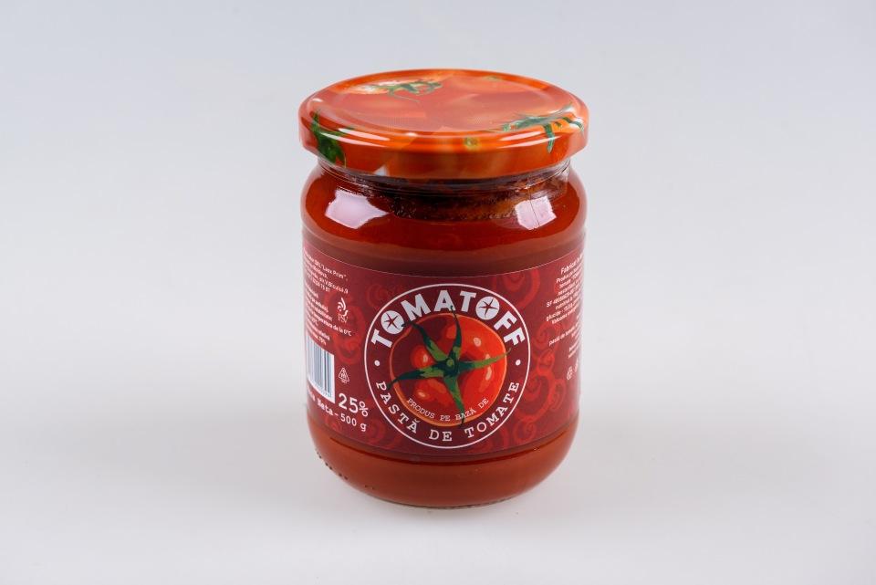 Продукт томат паста 20%, 0,5kg, Produs pb de pasta de tomate 25%, 0,5kg