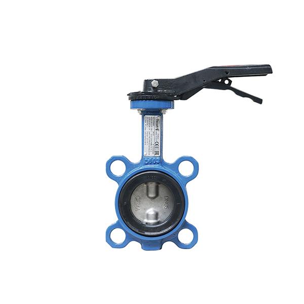 Купить Межфланцевый дисковый поворотный затвор – с ручкой VPI4449-02