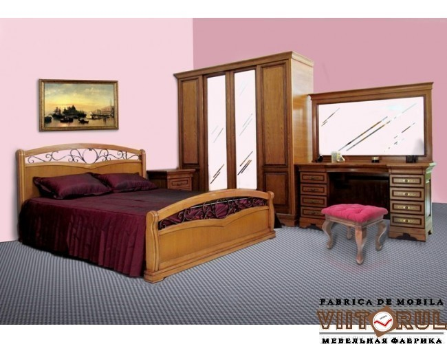 Купить Спальня Serenada (декор-кованый металл) Nr: 274