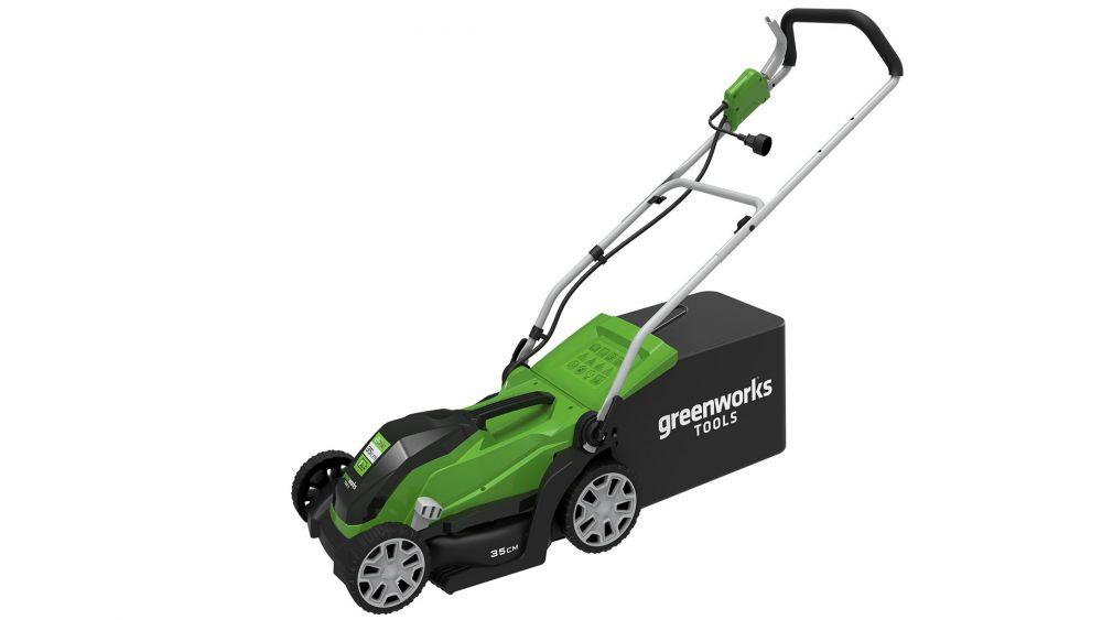 Купить Электрическая Газонокосилка GREENWORKS 1000W 35 см GLM1035