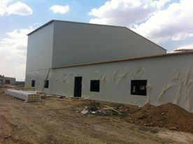 The building of the sandwich panels art. 24
