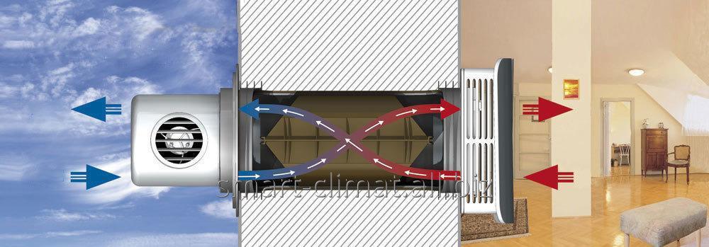 Купить Приточно-вытяжные установки с рекуперацией тепла