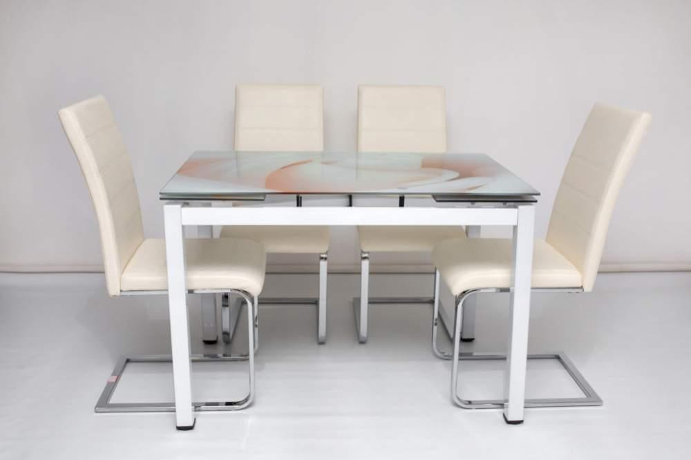 Купить Набор стол со стульями ET-01 + DC-15